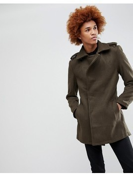 Criminal Damage Agent Coat - Green