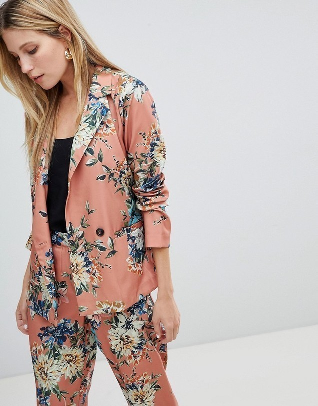 Vila floral suit jacket - Multi