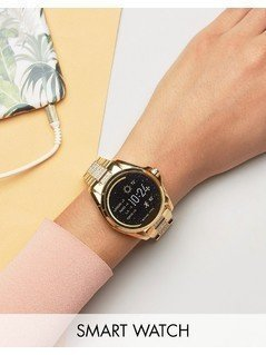 Michael Kors Access Gold Glitter Bradshaw Smart Watch - Gold