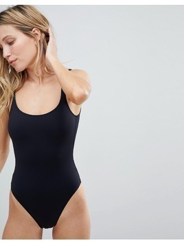 French Connection Classic Swimming Costume - Black