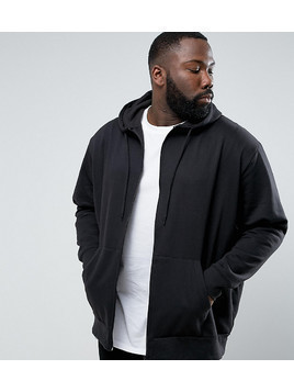 Loyalty and Faith PLUS Zip Thru Hoodie - Black