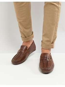 Base London Palmer Leather Loafers in Brown - Brown