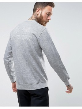 Edwin Best or Nothing Sweater - Grey