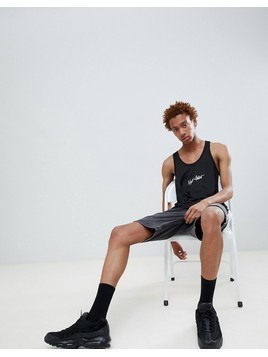 Night Addict Basketball Vest - Black