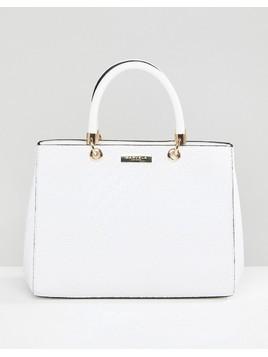 Carvela Structured Tote Bag - White