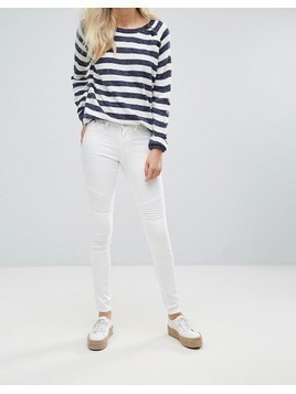 Blend She Bright Whitney White Skinny Jeans - White