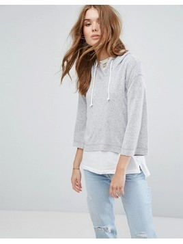 Hollister Supersoft Hoodie - White