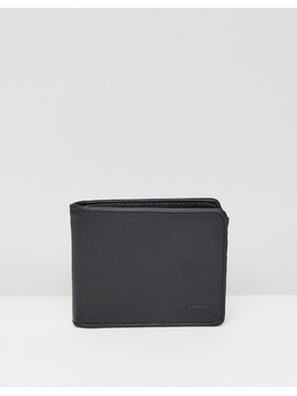 Vans Drop V Wallet In Black With Zip VA31J8BLK - Black