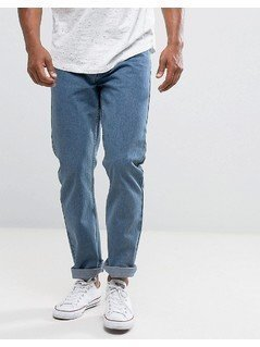 Loyalty and Faith Straight Fit Konfer Jeans in Stone Wash - Blue