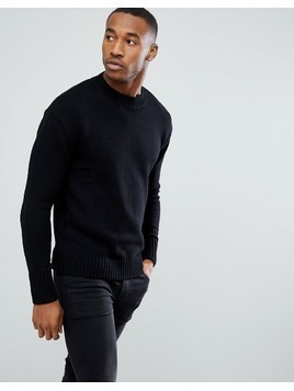 Produkt Knitted Jumper - Black
