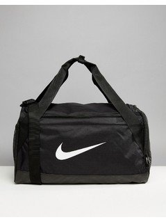 Nike Large Gym Holdall Bag In Black With Swoosh Logo - Black