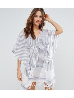 Akasa Stripe Beach Kaftan - Multi
