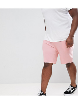 Jack&Jones Originals PLUS Jersey Shorts - Pink