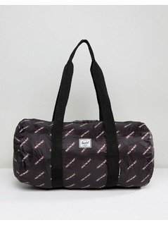 Herschel x Independent Truck Company Packable Duffel Bag - Black
