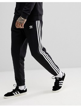 adidas Originals adicolor 3-Stripe Joggers In Black CW2981 - Black