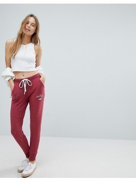 Hollister Cozy Jog Trackpant - Red