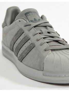adidas Originals Superstar Bounce Trainers - Grey