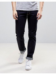 Love Moschino Regular Fit Jeans in Indigo Wash - Navy