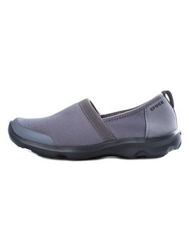 Crocs Duet Busy Day 2.0 Satya A-line Slip On Buty Szary