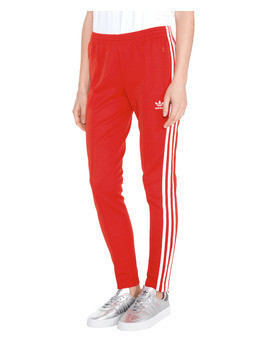 adidas Originals V-Day 3-Stripes Legginsy Czerwony