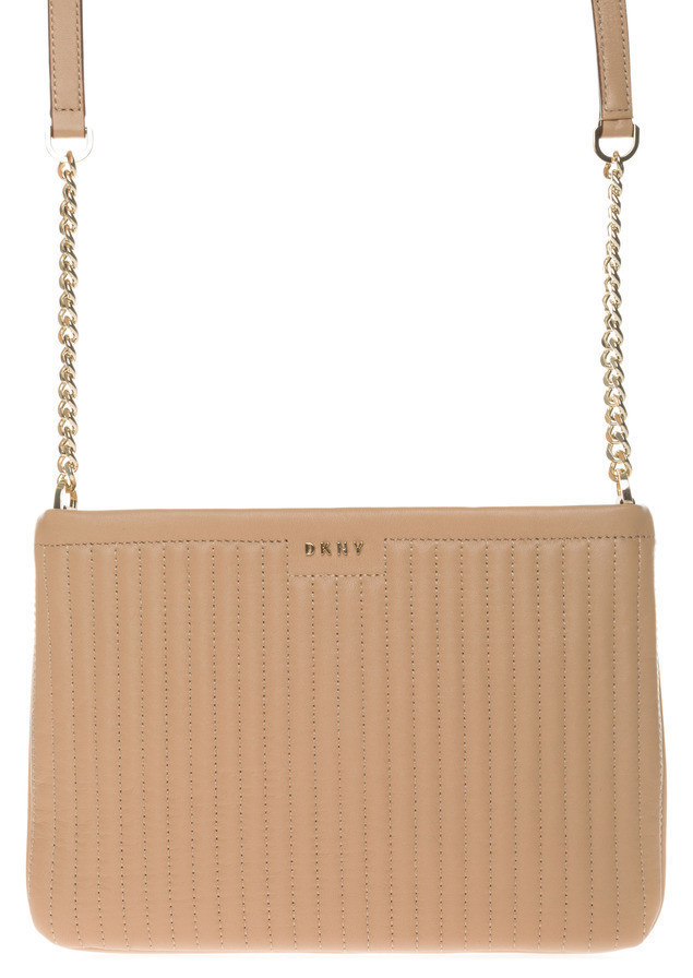 DKNY Cross body bag Beżowy