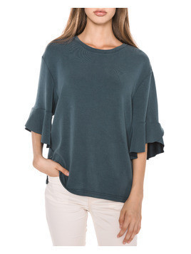 SELECTED Lizzy Top Niebieski