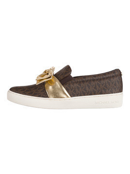 Michael Kors Willa Slip On Brązowy