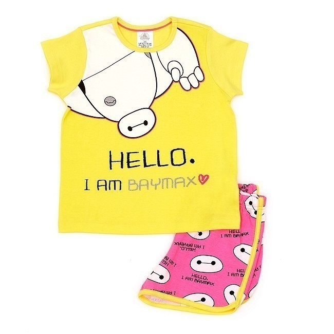 Disney Store Baymax Shortie Pyjamas For Kids - 3-4 Years