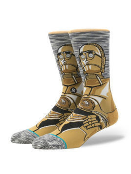 Stance Star Wars C-3PO Socks For Adults -  Large