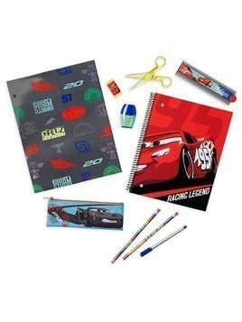 Disney Store Disney Pixar Cars Stationery Supply Kit
