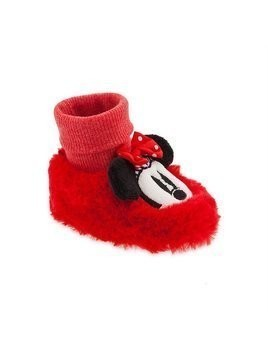 Disney Store Minnie Mouse Baby Slippers - 0-6 Months