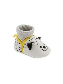 Disney Store 101 Dalmatians Baby Slippers - 0-6 Months