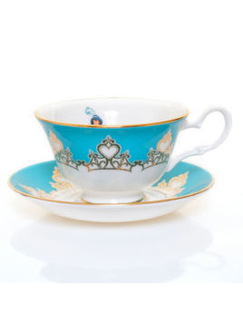 English Ladies Co. Bone China Princess Jasmine Teacup and Saucer