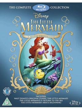 The Little Mermaid 1, 2&3 Blu-ray Boxset