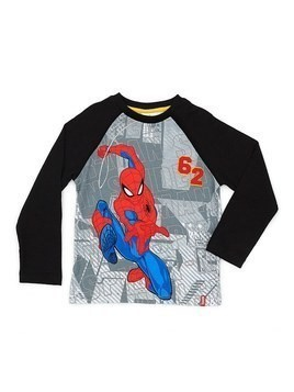 Disney Store Spider-Man Long-Sleeved T-Shirt For Kids - 5-6 Years