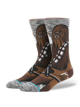 Stance Star Wars Chewbacca Socks For Adults -  Large