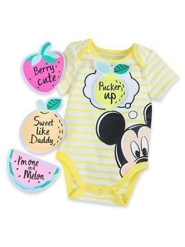 Disney Store Mickey Mouse Baby Customisable Body Suit