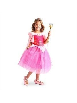 Sleeping Beauty Costume Dress For Kids