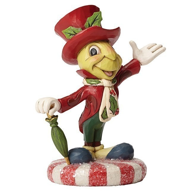 Disney Traditions Jiminy Cricket Christmas Figurine