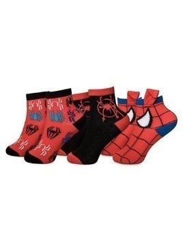 Disney Store Spider-Man: Into the Spider-Verse Socks For Kids, 3 pairs