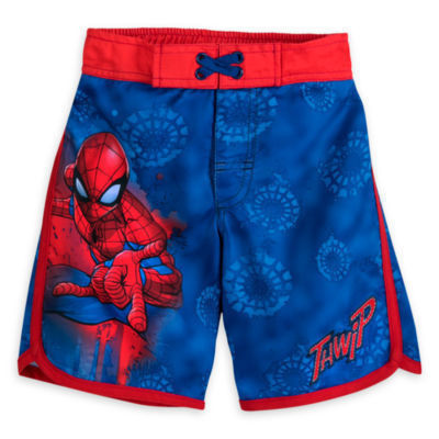 Spider-Man Swimming Shorts For Kids -  5-6 Years