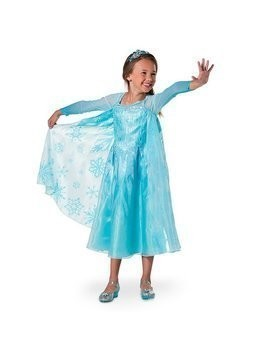 Elsa Costume Dress For Kids, Frozen