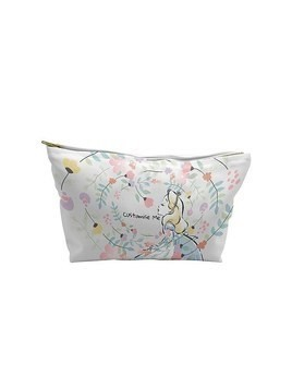 Alice in Wonderland Flowers Wash Bag, Small