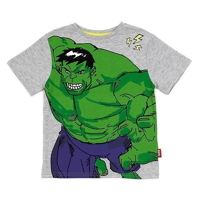 Disney Store Hulk T-Shirt For Kids - 7-8 Years
