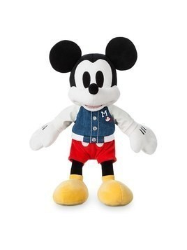 Disney Store Mickey Mouse Varsity Small Soft Toy