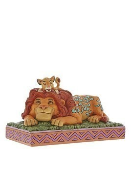 Disney Traditions Simba and Mufasa Figurine