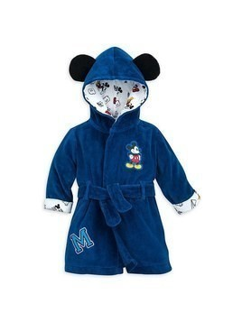 Disney Store Mickey Mouse Baby Bath Robe - 12-18 Months