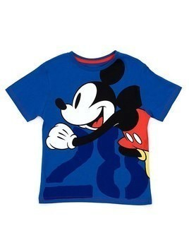Disney Store Mickey Mouse '28' T-Shirt For Kids - 3-4 Years
