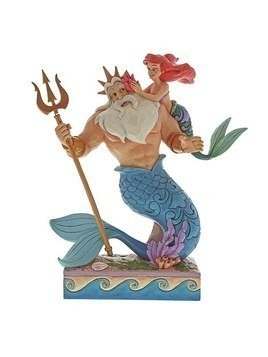 Disney Traditions Ariel and Triton Figurine