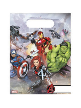 Marvel Avengers x6 Party Bags